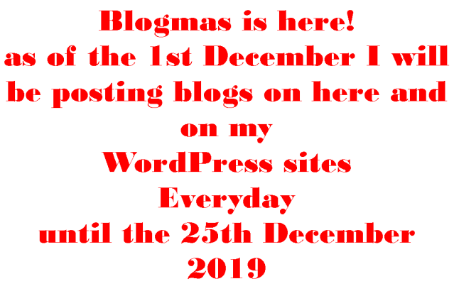 Blogmas is here 2019