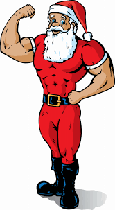 toned father christmass
